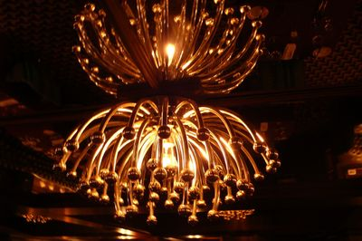 Parker metal chandelier