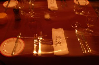 Parker dinner table