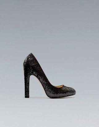 Zara_Glitter Heels