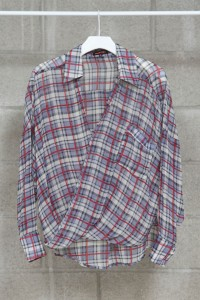 MM_Twisted Check Shirt