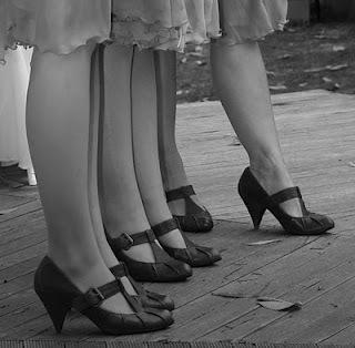 Flapper-shoes