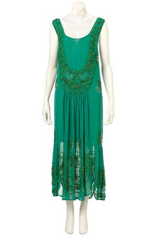 Topshop flapper green