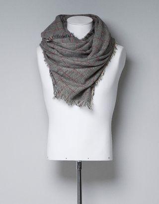 Zara_checked scarf