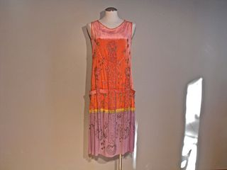 Silk Velvet Flapper dress