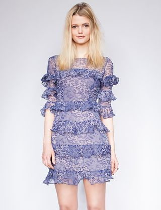 Pixie market_iris ruffle dress